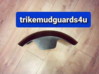 Bike Front Mudguard Fender Shorty Universal Fibreglass Bobber 125 • 26£