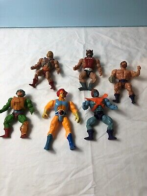 $65 • Buy Rare Lot Of 6 Vintage Masters Of The Universe Action Figures