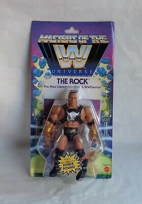 $22 • Buy WWE Masters Of The Universe  The Rock  Figure New Wave 3