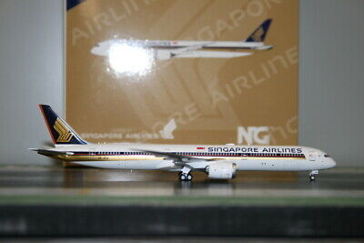 AU108 • Buy NG Models 1:400 Singapore Airlines Boeing 787-10 9V-SCA (56007) Model Plane