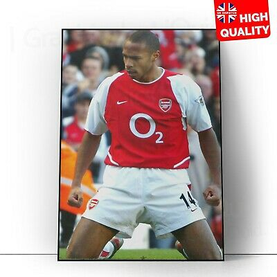 £4.99 • Buy Thierry Henry, Arsenal, Legend, Photo, Football, Home Poster   A5 A4 A3  