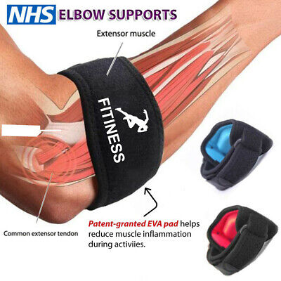 £3.79 • Buy Tennis Elbow Strap Support Brace Band For Gym Sport Golfers Pain Epicondylitis✅