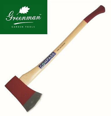Traditional Axe 5 Lb Chopping Felling High Quality Greenman Dropped Forged Steel • 42.99£