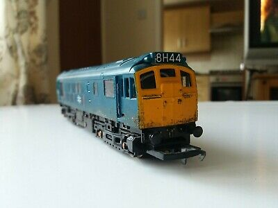 Hornby Class 25 Loco BR Blue. (Non Runner New Ringfield Motor Required) • 11£