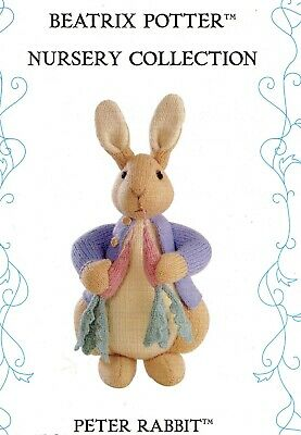 Alan Dart Beatrix Potter ** Peter Rabbit **  Toy/doll Tdb  Knitting Pattern  • 23£