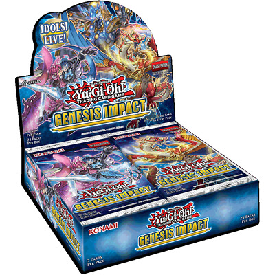 Yu-Gi-Oh! Genesis Impact Case Of 12 - Available Now! • 750£