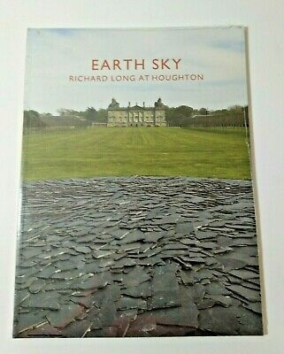 Earth Sky: Richard Long At Houghton Hall Paperback Book Film Sealed Brand New  • 9.99£