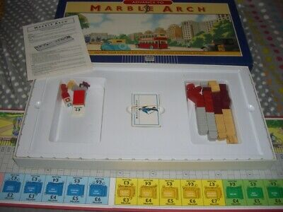 Advance To Marble Arch, Parker Boxed Board Game, Complete • 2£