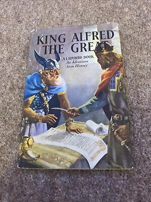 King Alfred The Great A Ladybird Book Dust Jacket • 2.75£