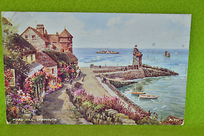 Mars Hill Lynmouth Posted 1949 • 2£