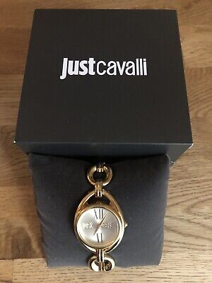 Just Cavalli Roberto Cavalli Dress Statement Watch Gold Immaculate RRP £200.00 • 1.20£