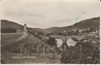 Scotland - Helmsdale And The River - R/p - Postcard # P/u 1963# 22696 • 4£