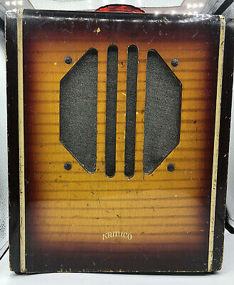 $ CDN629.11 • Buy Vintage Kamico Tube Amplifier For Electric Guitar Used And Working