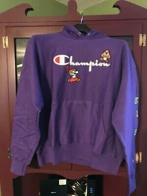 $ CDN252.58 • Buy SOLD OUT EXCLUSIVE Champion X Hoodie Super Mario Brothers Size 2XL Supreme