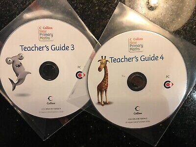 Collins New Primary Maths Teacher's Guide 3 And 4 CDs • 4.99£