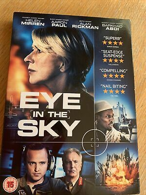 Eye In The Sky DVD (2016) Helen Mirren, Hood (New And Sealed) • 0.99£