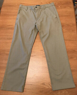 Timberland Mens Chinos Khaki Trousers Pants Size 36 Cotton Carhartt North Face • 5.50£