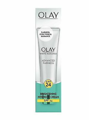 AU17.24 • Buy Olay White Radiance Advanced Fairness Brightening Intensive Cream SPF 24 | 20gm