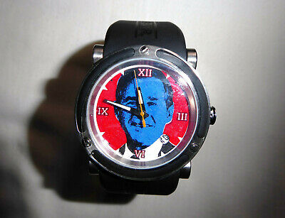 TIME FORCE Watch 'George W. Bush' Limited Numbered 014/500 • 90.64£
