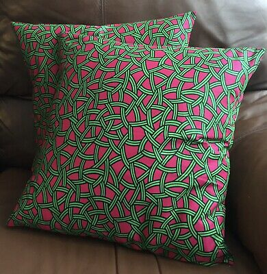 African Print Envelop Style Cushion Cover • 6£