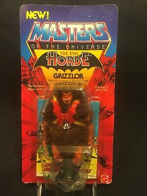 $349 • Buy Vintage MOTU Masters Of The Universe GRIZZLOR 1983 MOC Unpunched