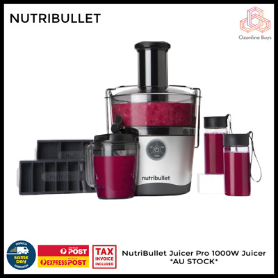 AU195 • Buy NutriBullet Juicer Pro 1000W Juicer *AU STOCK *