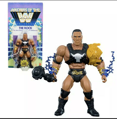 $28.99 • Buy Masters Of The WWE Universe THE ROCK Action Figure Walmart Exclusive New