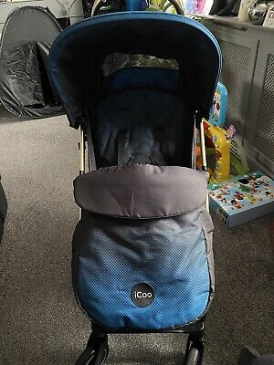 Icoo Ombré Pushchair Gold Frame • 50£