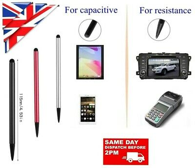 £2.92 • Buy Stylus Pen For Touch Screen Tablet Samsung Iphone Ipad Huawei Gps Doc Signing