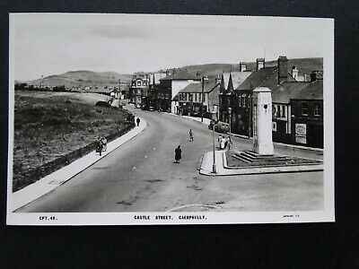 Frith`s Series Postcard  Castle Street, Caerphilly  Glamorgan • 3.99£
