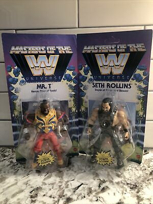 $60 • Buy WWE Mr. T & Seth Rollins Masters Of The Universe