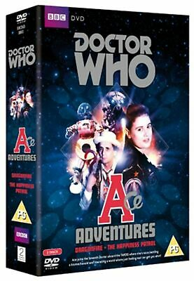 Doctor Who Ace Adventures Dragonfire The Happiness Patrol DVD New & Sealed • 12.49£