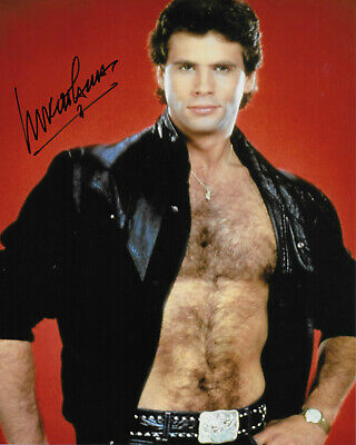 Lorenzo Lamas Original Autographed 8X10 Photo #13 - Falcon Crest, Renegade • 31.33£