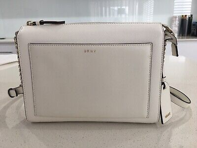 AU125 • Buy DKNY Bryant Park Smooth And Textured-leather Shoulder Bag