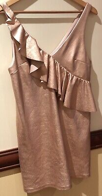 AU35 • Buy Zara Dress - Small 6-8 Pink Gold Color