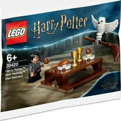 $ CDN13.66 • Buy LEGO Harry Potter And Hedwig Owl Delivery New & Sealed Polybag 30420 Gift