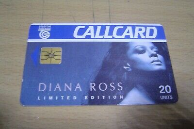 Collectable Phone Card Diana Ross Limited Edition ( Rare )  • 0.99£