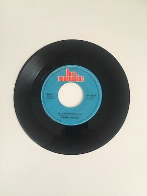 Chubby Checker ‎– Let's Twist Again / Hey Bobba Needle BR Music ‎– BR 45035 • 1.99£