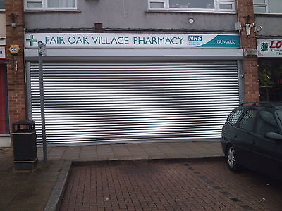 £395 • Buy SECURITY ROLLER SHUTTER - Electric Shopfront Shutters - Fitting Available South