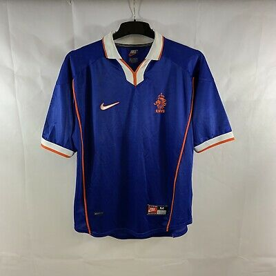 Holland Away Football Shirt 1998/00 Adults Medium Nike D568 • 79.99£
