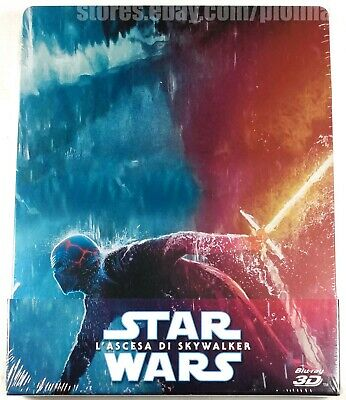 AU67.06 • Buy STAR WARS: THE RISE OF SKYWALKER 3D And 2D Blu-Ray STEELBOOK IX 9 ITALY Import