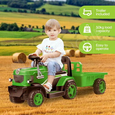 AU129.95 • Buy Kids Ride-On Tractor Loader Electric Car Battery Operated Toy Toddlers Child
