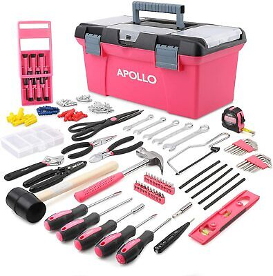 £75.99 • Buy Pink Tool Box Kit Present Ladies Gift Cheap Buy 170 Pcs Cheap May Sale Offer