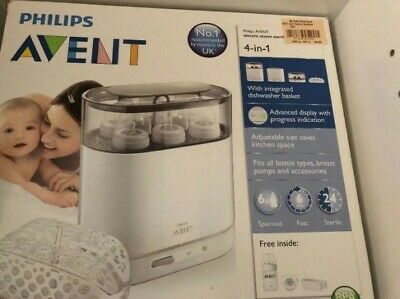 AU40 • Buy PHILIPS AVENT 4-in-1 Electric Sterilizer
