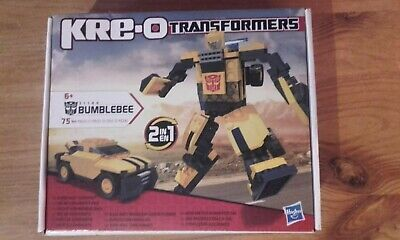 £6.99 • Buy Transformers Boxed 2 In 1 Bumblebee Kre-o  75 Pieces With Instruction Leaflet 6+