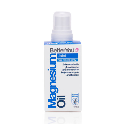 BetterYou Magnesium Oil Joint Spray 100ml • 12.99£