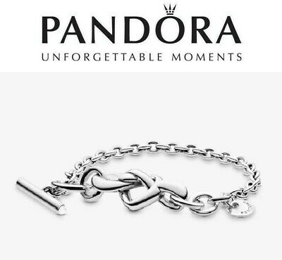 Pandora Knotted Heart T-Bar Bracelet  • 52.99£
