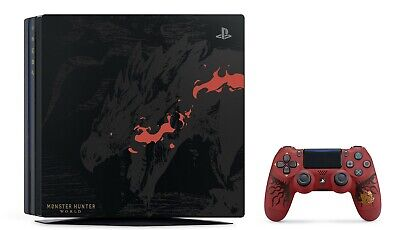 AU780 • Buy Monster Hunter World Limited Edition Rathalos PS4 Pro 1TB + Accessories