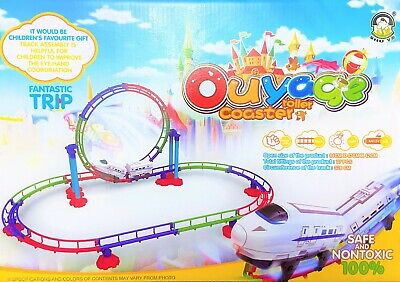 £14.99 • Buy Interactive Train Track Set Toys For Boys And Girls  Easy To Assemble UK