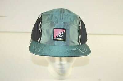 AU37.82 • Buy MSRP 45 NWT Ice Cream Drumstick Hat One Size Green Flat Brim 5 Panel